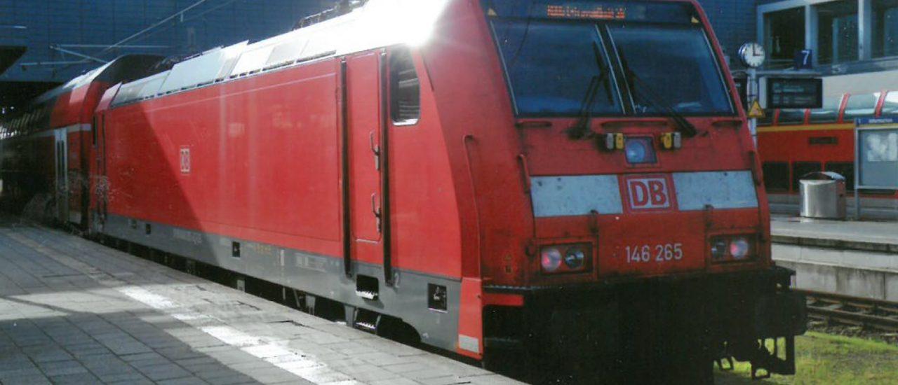 ERSTE 146-EINSÄTZE MIT SPNV-ZÜGEN BEI DER  REGIONAL-BAHN SCHLESWIG-HOLSTEIN (RBSH)